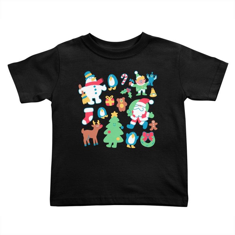 Christmas Friends Kids Toddler T-Shirt by obinsun