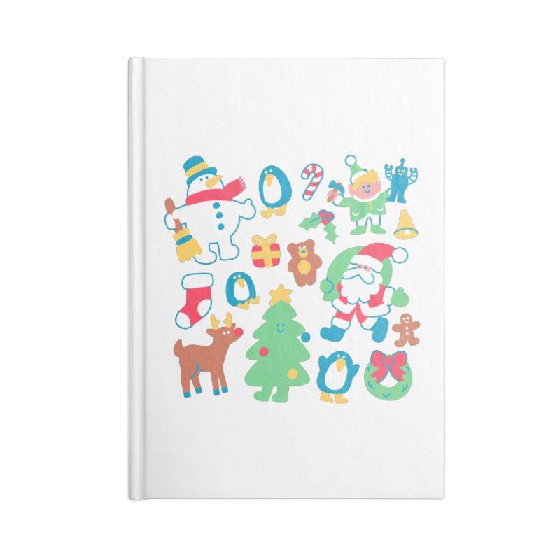Christmas Friends Accessories Notebook by obinsun