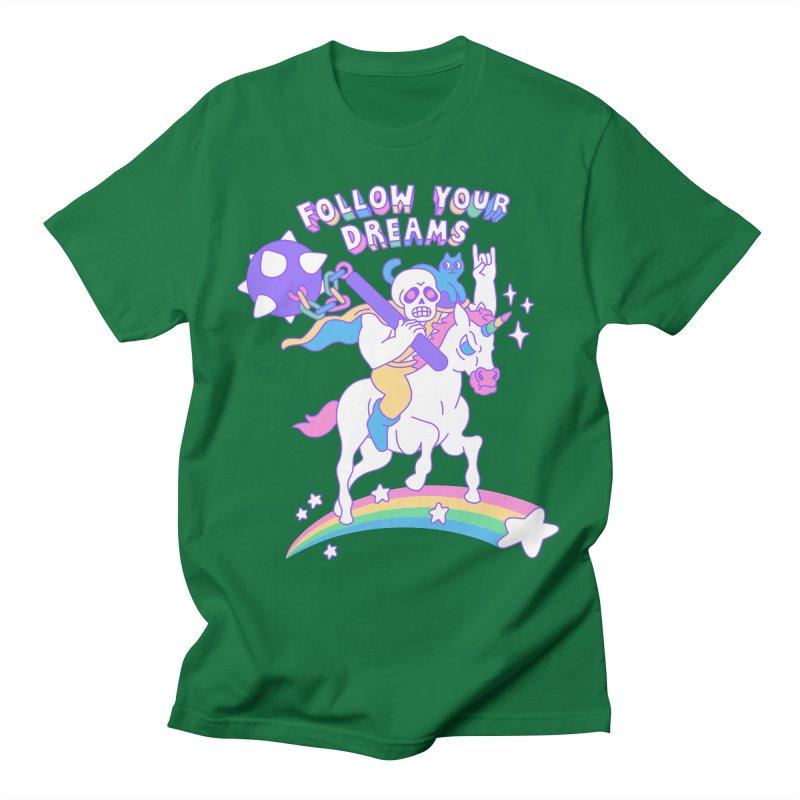 Follow Your Dreams Men's T-Shirt by obinsun
