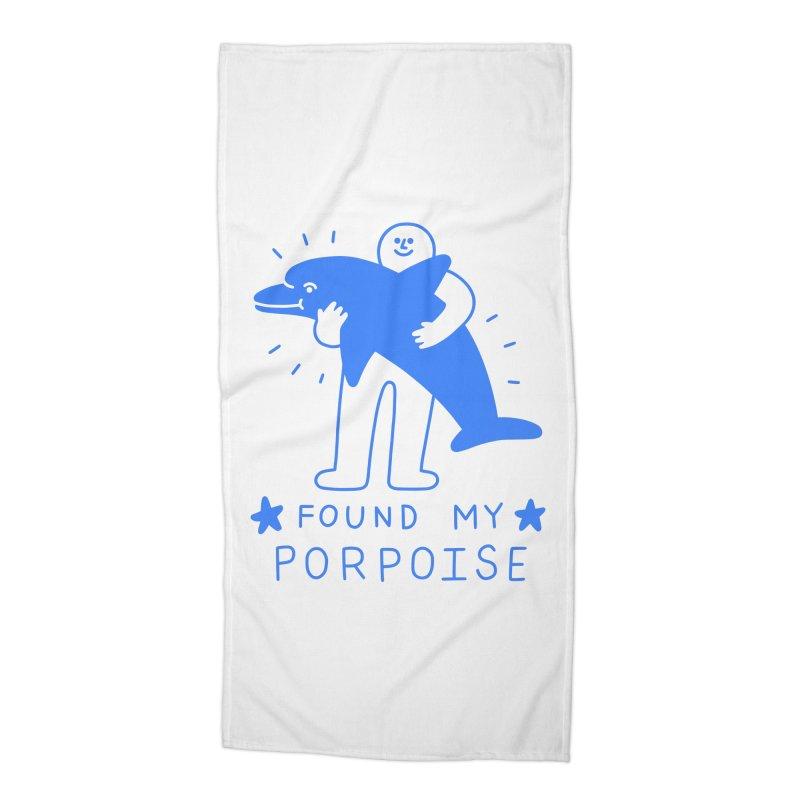 Found My Porpoise Accessories Beach Towel by obinsun