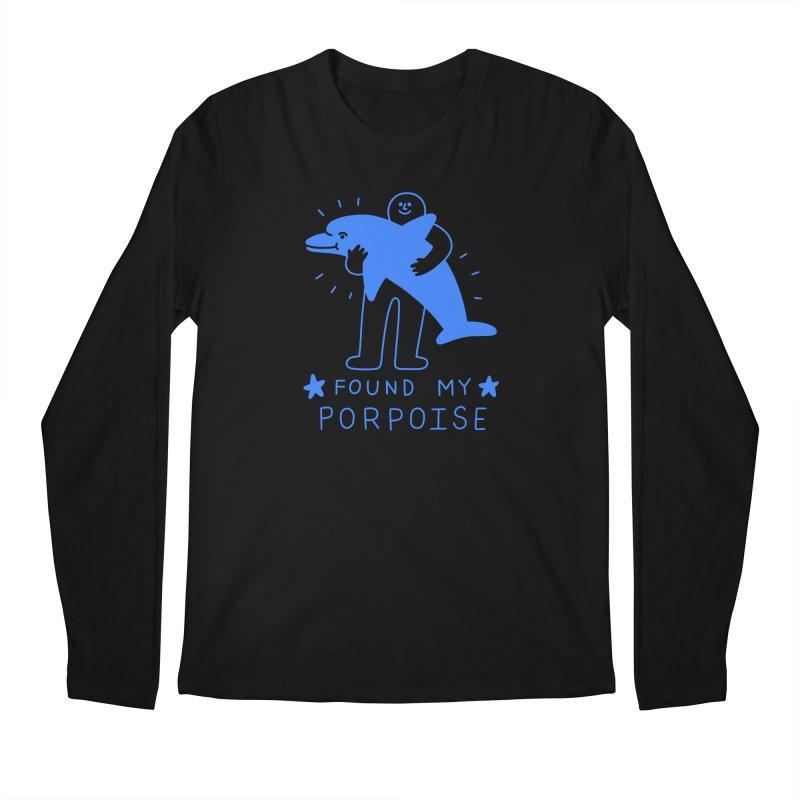 Found My Porpoise Men's Longsleeve T-Shirt by obinsun
