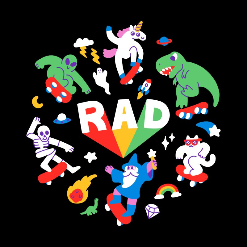 Rad Pals Accessories Notebook by obinsun