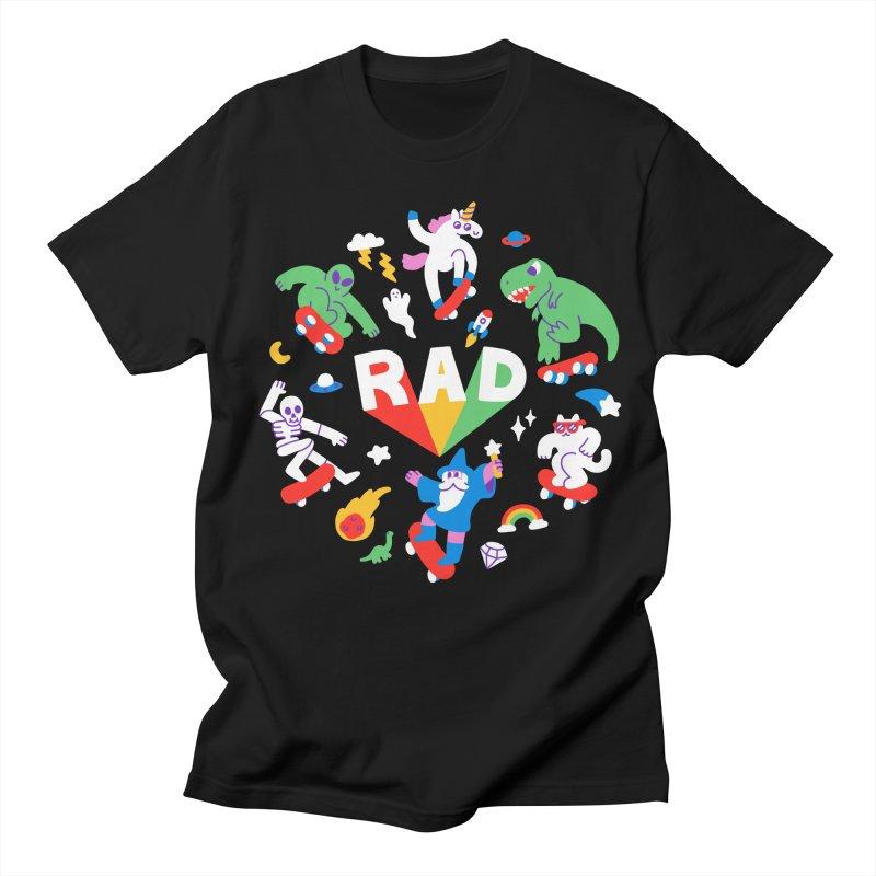 Rad Pals Men's T-Shirt by obinsun