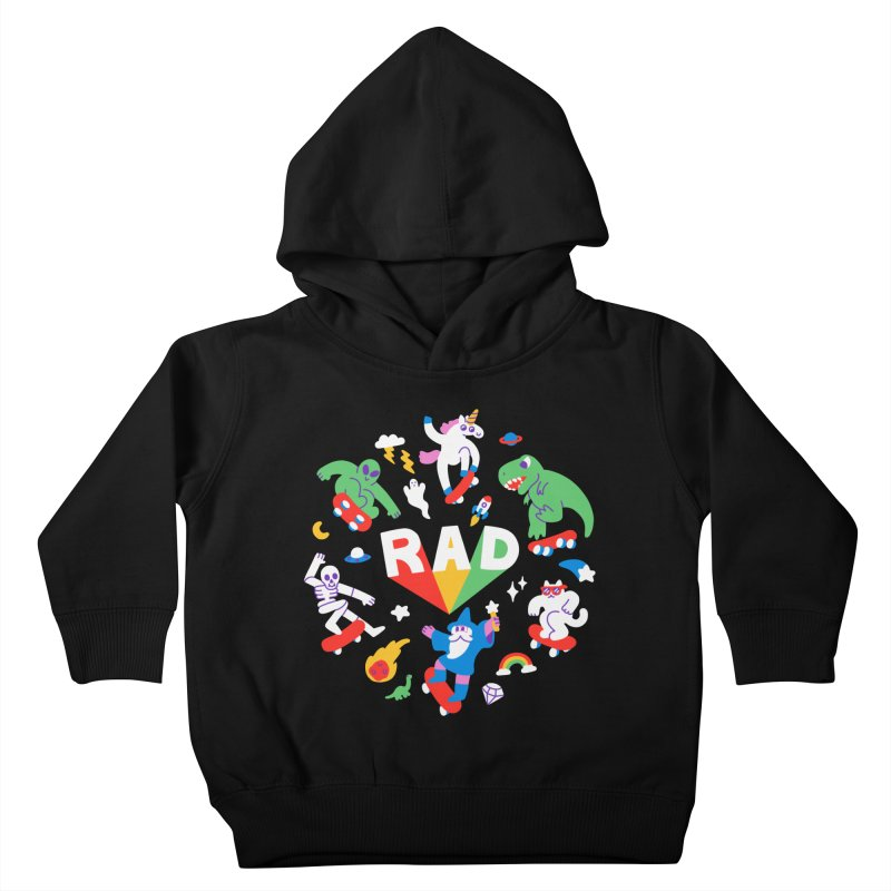 Rad Pals Kids Toddler Pullover Hoody by obinsun