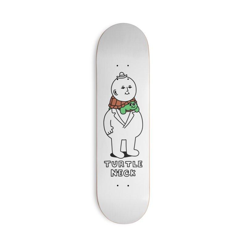 Turtleneck Accessories Skateboard by obinsun