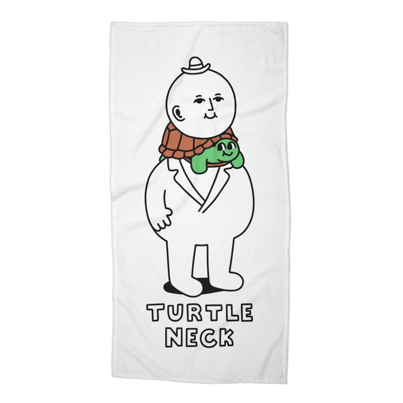 Turtleneck Accessories Beach Towel by obinsun