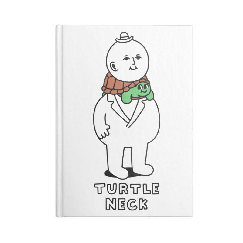 Turtleneck Accessories Notebook by obinsun