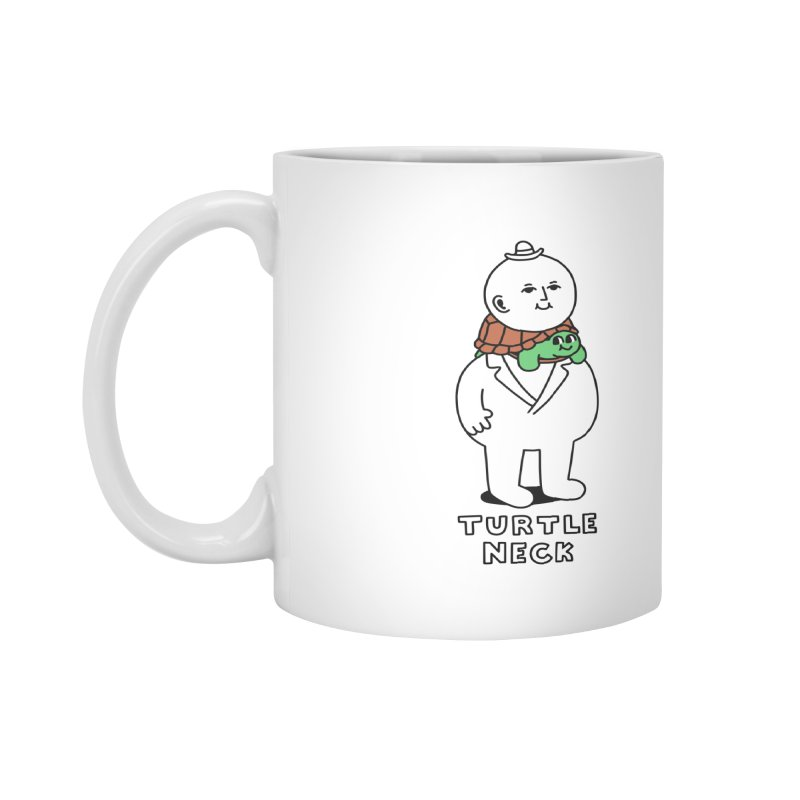 Turtleneck Accessories Mug by obinsun