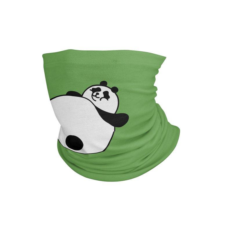 Large Panda Accessories Neck Gaiter by obinsun