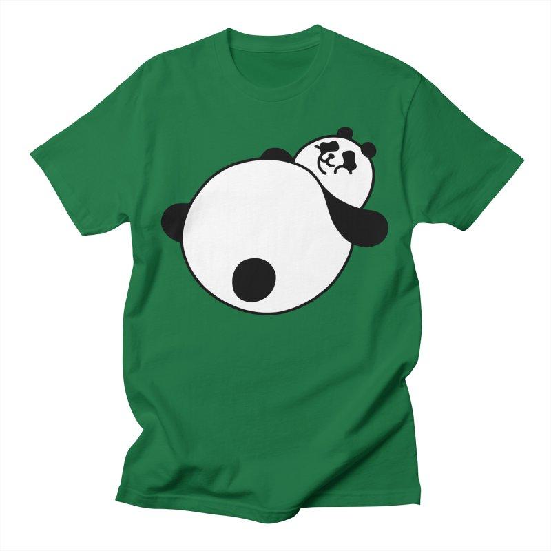 Large Panda Men's T-Shirt by obinsun