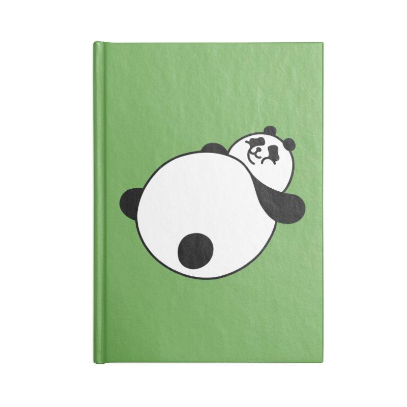 Large Panda Accessories Notebook by obinsun