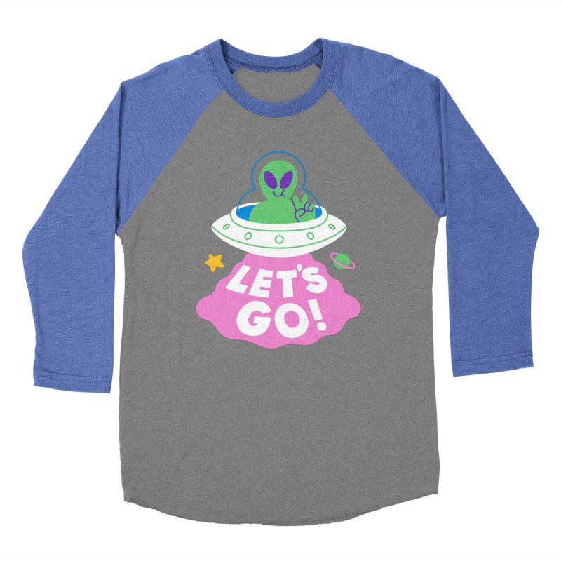LET'S GO UFO Women's Longsleeve T-Shirt by obinsun