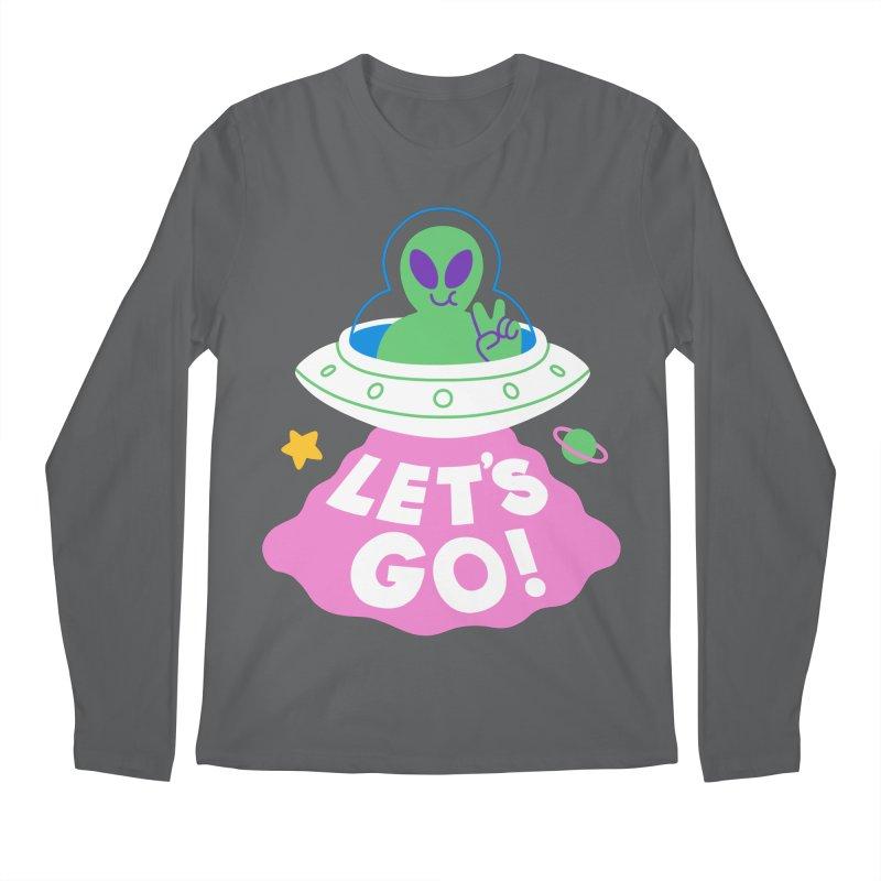 LET'S GO UFO Men's Longsleeve T-Shirt by obinsun