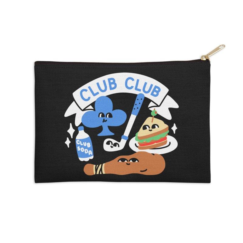 Club Club (Cute Version) Accessories Zip Pouch by obinsun
