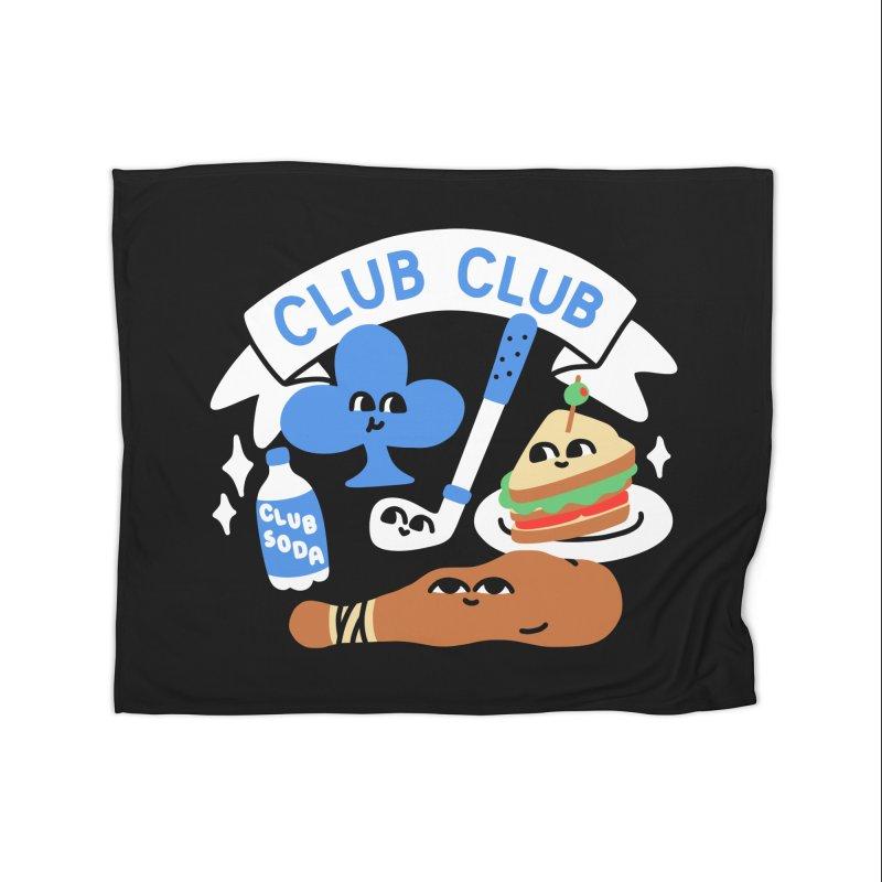 Club Club (Cute Version) Home Blanket by obinsun