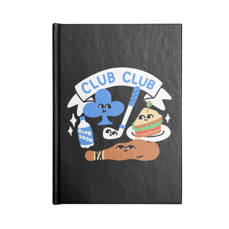 Club Club (Cute Version) Accessories Notebook by obinsun