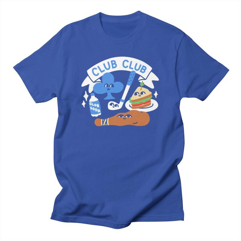 Club Club (Cute Version) Men's T-Shirt by obinsun