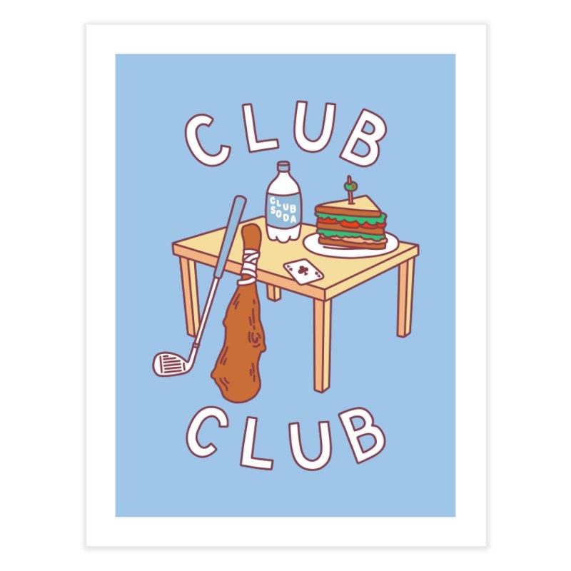Club Club Home Fine Art Print by obinsun