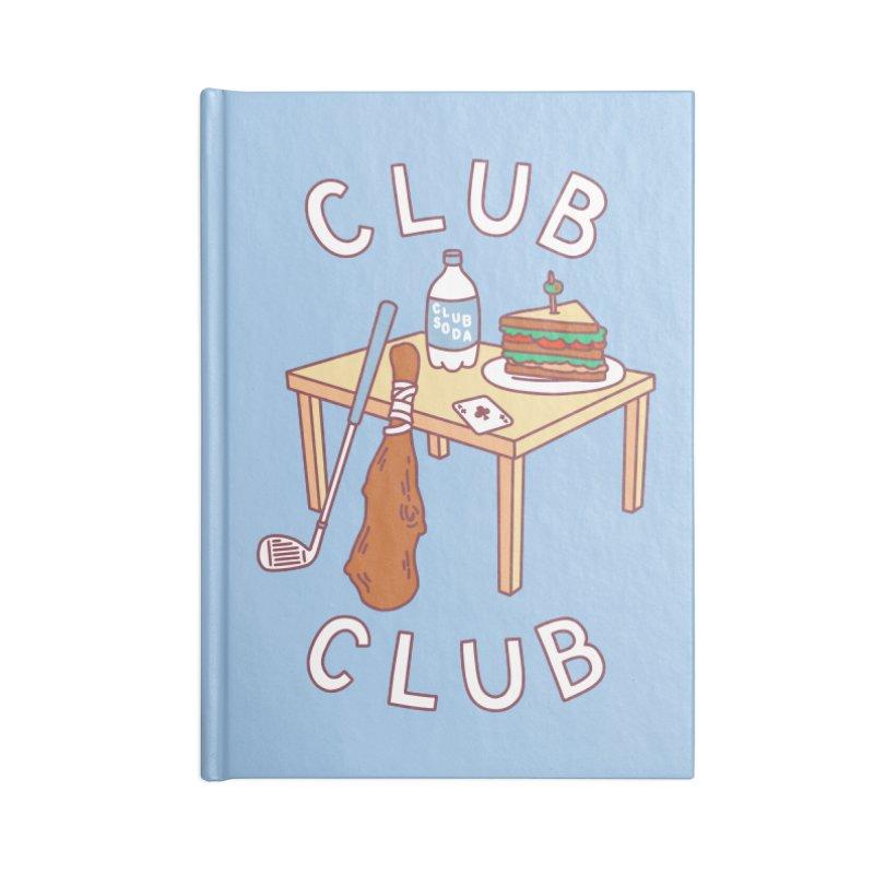 Club Club Accessories Notebook by obinsun