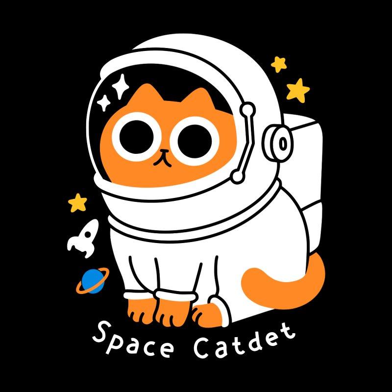 Space Catdet Men's Tank by obinsun