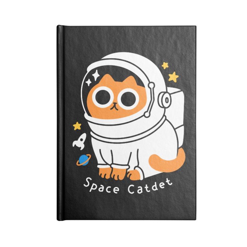 Space Catdet Accessories Notebook by obinsun
