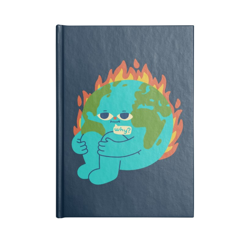 The Earth is Concerned Accessories Notebook by obinsun