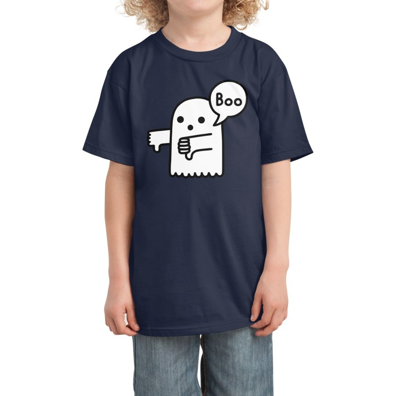 Ghost Of Disapproval Kids T-Shirt by obinsun