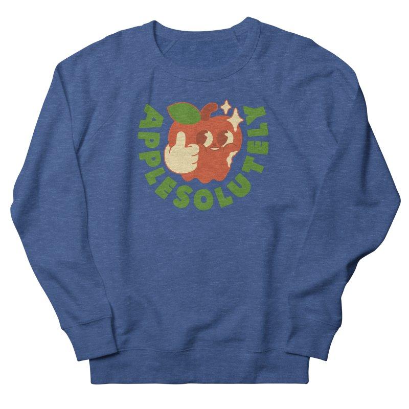 Apple Affirmation Men's Sweatshirt by obinsun
