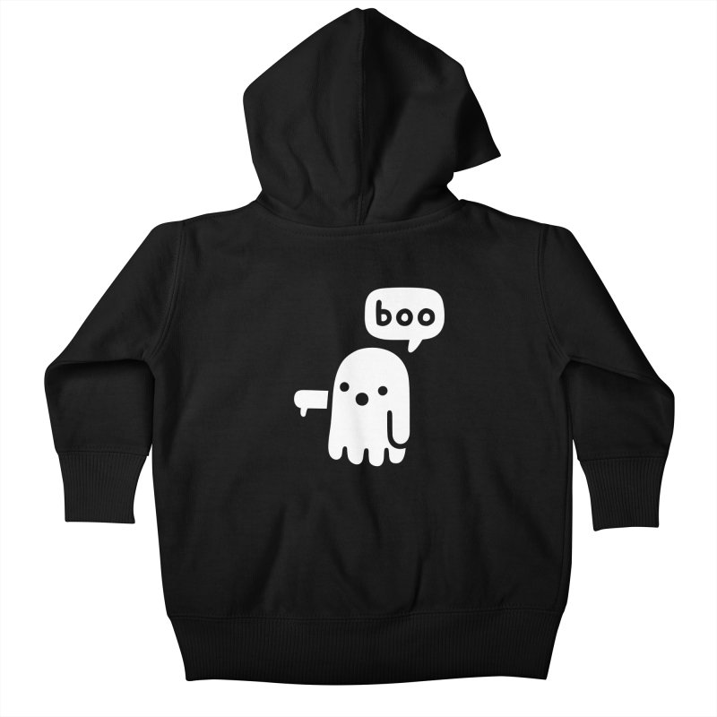 Ghost Of Disapproval Kids Baby Zip-Up Hoody by obinsun