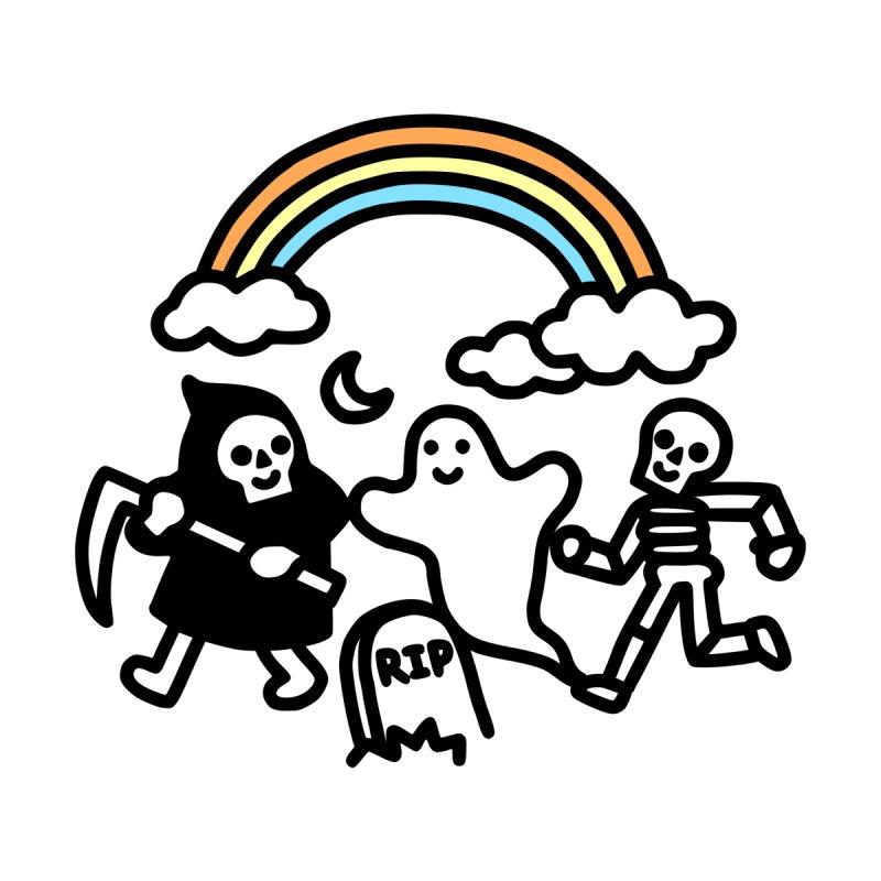 SUPER Spooky Doodle Accessories Neck Gaiter by obinsun