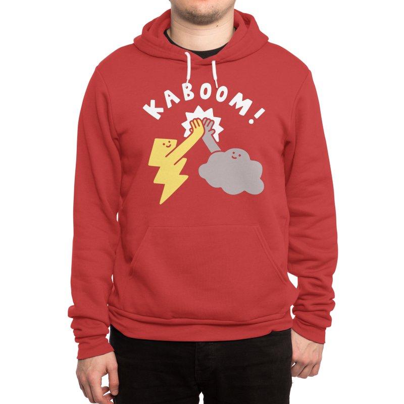 Thunderclap Men's Pullover Hoody by obinsun