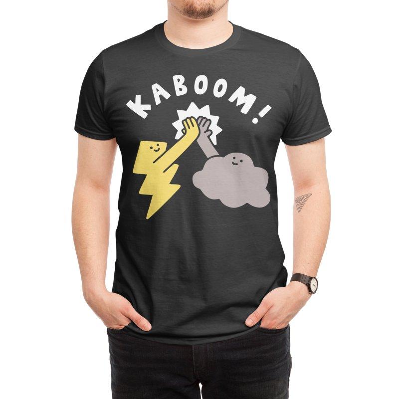 Thunderclap Men's T-Shirt by obinsun