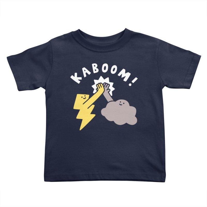 Thunderclap Kids Toddler T-Shirt by obinsun