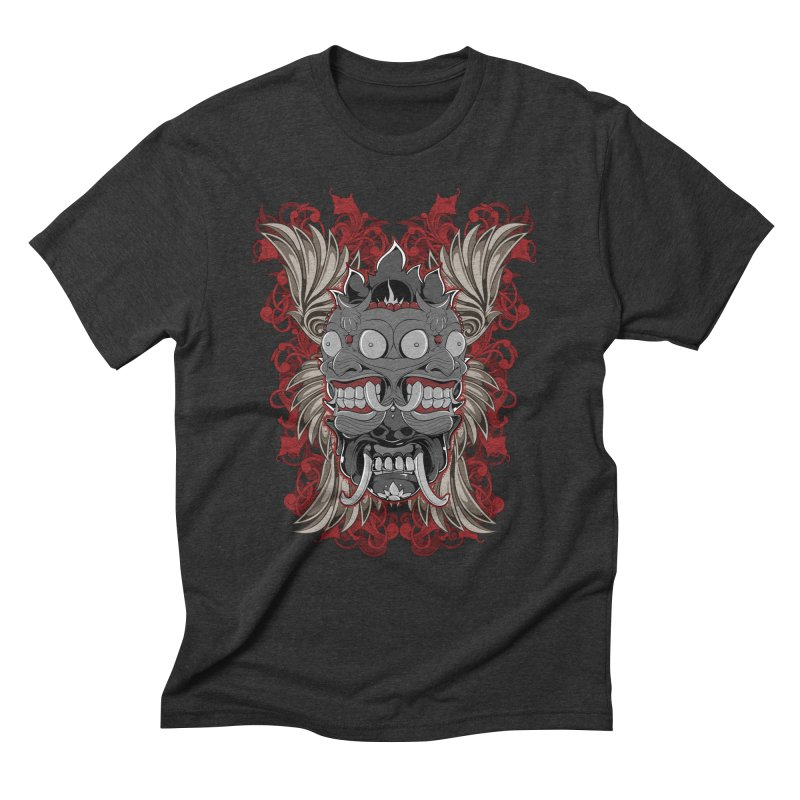 Voodoo Faces Men's Triblend T-Shirt by Oblivion Design's Artist Shop
