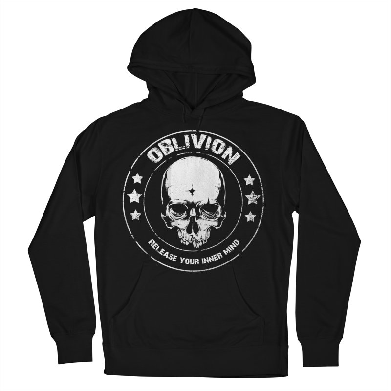 Oblivion - Release You Inner Mind (black) Women's French Terry Pullover Hoody by Oblivion Design's Artist Shop