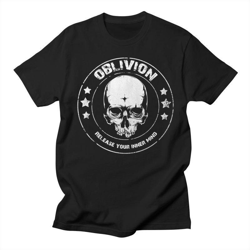 Oblivion - Release You Inner Mind (black) Men's T-Shirt by Oblivion Design's Artist Shop