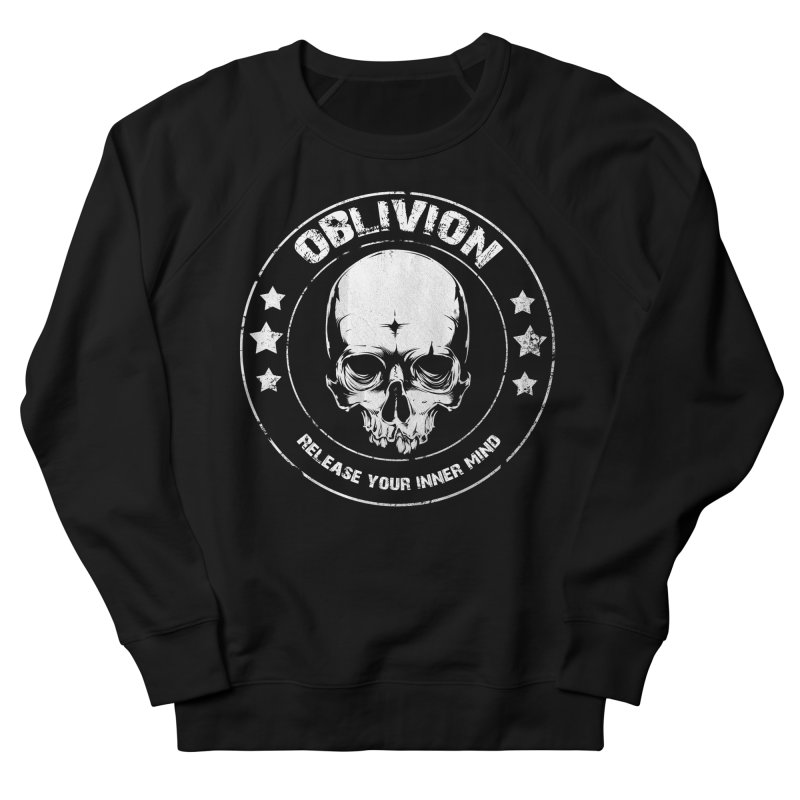 Oblivion - Release You Inner Mind (black) Men's French Terry Sweatshirt by Oblivion Design's Artist Shop