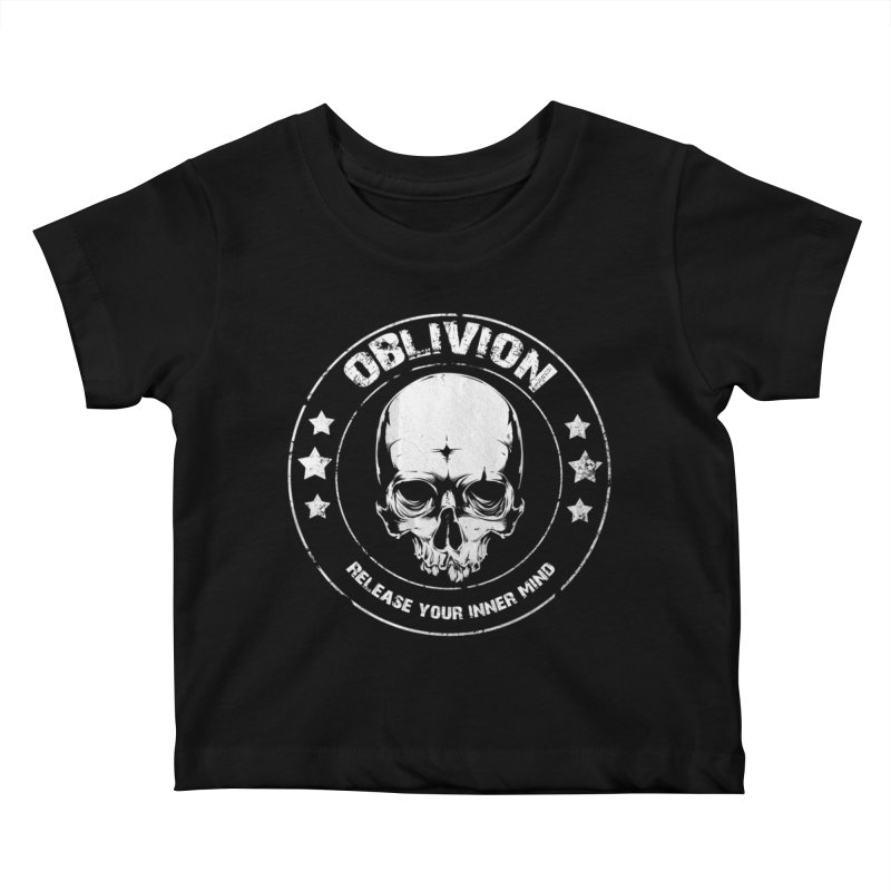 Oblivion - Release You Inner Mind (black) Kids Baby T-Shirt by Oblivion Design's Artist Shop