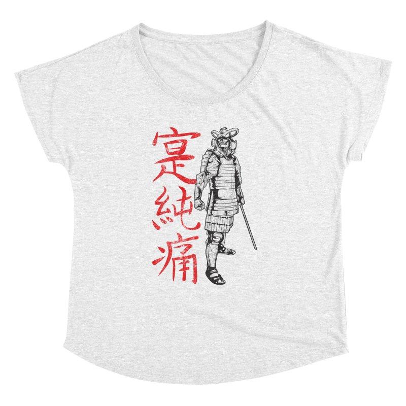 Samurai Skeleton Warrior (white) Women's Dolman by Oblivion Design's Artist Shop