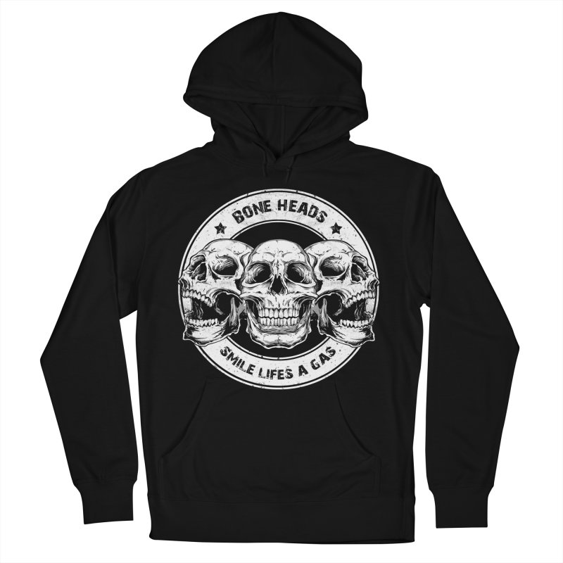 Bone Heads Women's French Terry Pullover Hoody by Oblivion Design's Artist Shop