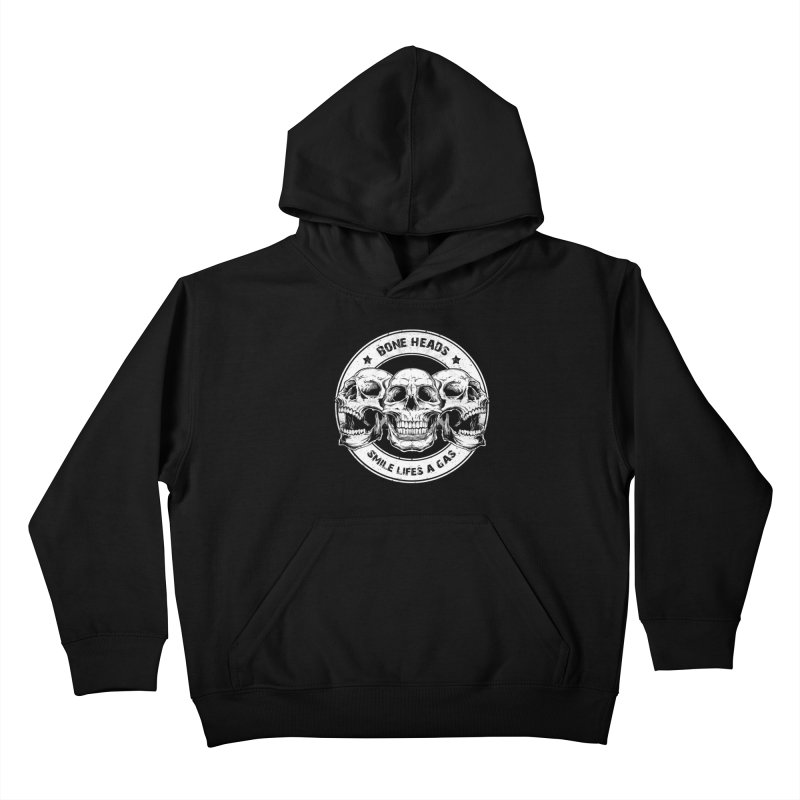 Bone Heads Kids Pullover Hoody by Oblivion Design's Artist Shop