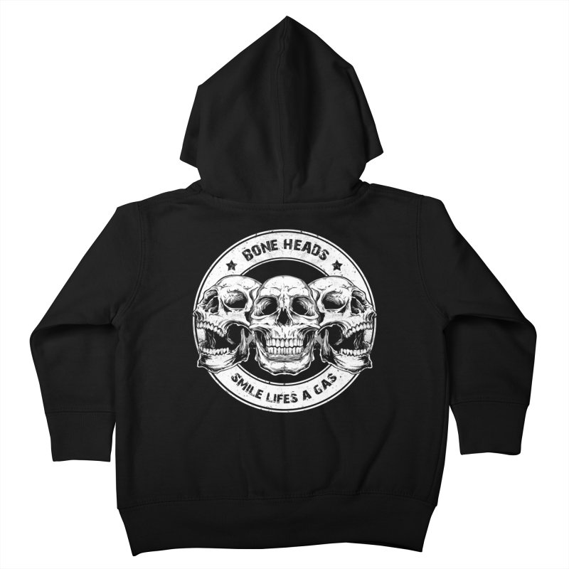 Bone Heads Kids Toddler Zip-Up Hoody by Oblivion Design's Artist Shop