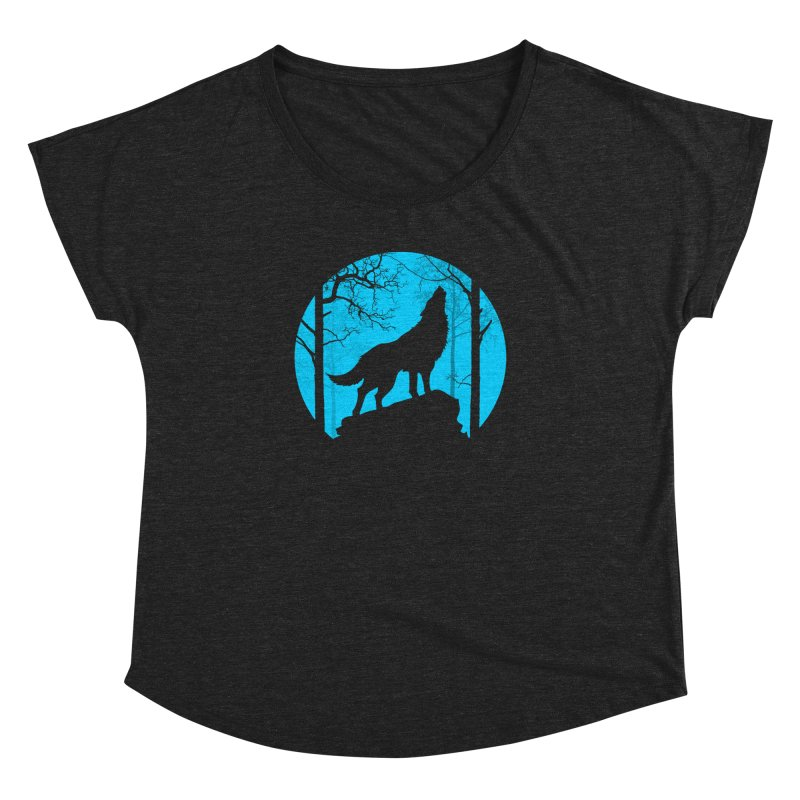 Midnight Howler Women's Dolman by Oblivion Design's Artist Shop