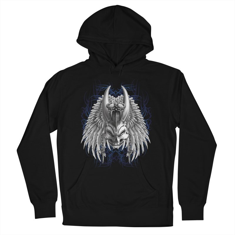 Tribal Indian Skull Men's Pullover Hoody by Oblivion Design's Artist Shop