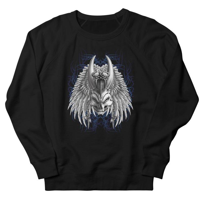 Tribal Indian Skull Men's Sweatshirt by Oblivion Design's Artist Shop