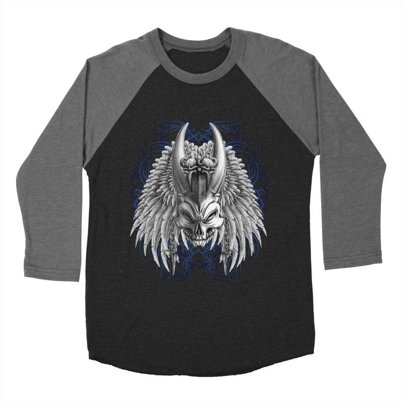 Tribal Indian Skull Men's Longsleeve T-Shirt by Oblivion Design's Artist Shop