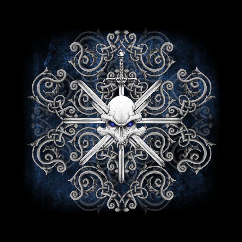 Tribal Skull Swords   by Oblivion Design's Artist Shop