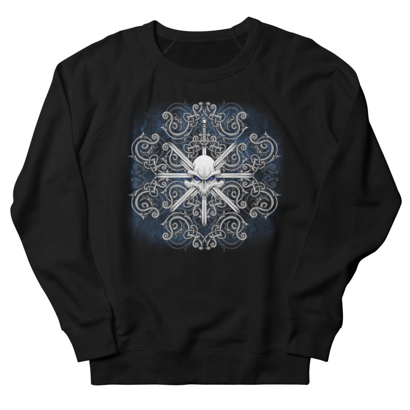 Tribal Skull Swords Women's Sweatshirt by Oblivion Design's Artist Shop