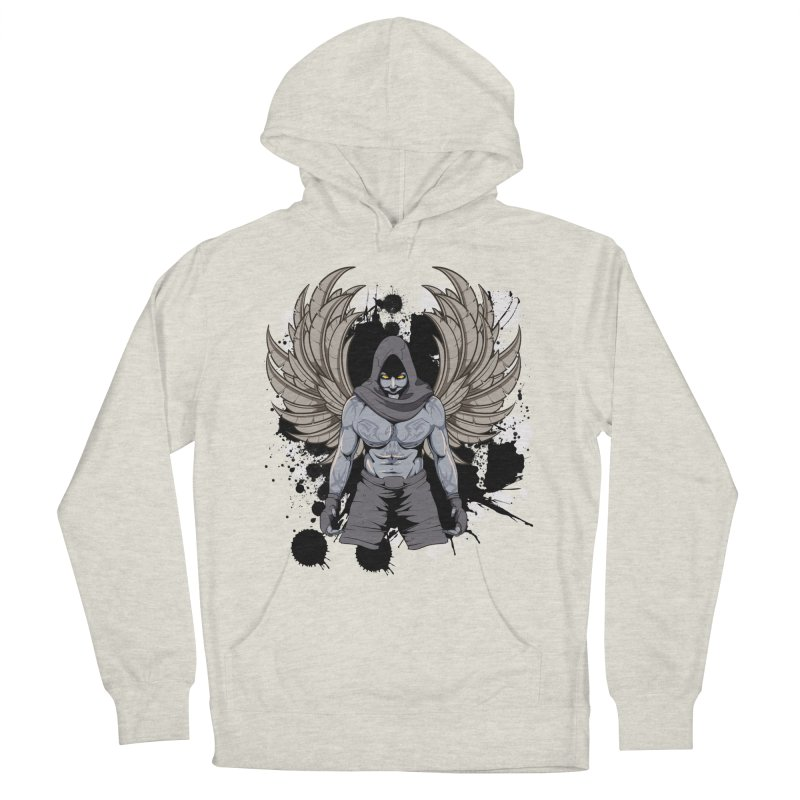 Fighter Men's Pullover Hoody by Oblivion Design's Artist Shop