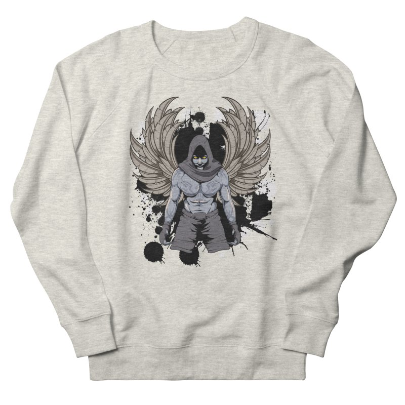 Fighter Men's Sweatshirt by Oblivion Design's Artist Shop